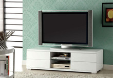 Cerro White TV Console W/ Four Drawers