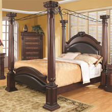 Grand Prado Warm Brown Cherry King Post Bed