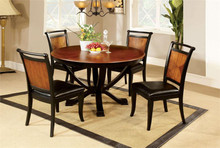 Salida Acacia Black Round Table Set