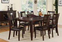 Madra Deep Brown Dining Table Set
