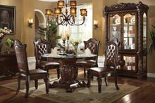 Formal dining room tables formal dining table for Light wood formal dining room sets