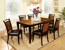 Acacia Black Dining Table Set