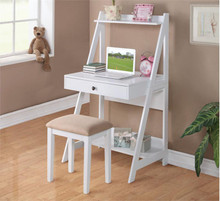 Winslow White Makeup Writing Desk