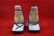 Beechcraft 95-B55 Baron 3rd & 4th Passenger Seats PN 58-530184-15, 58-530184-25 (CALL OR EMAIL TO BUY)