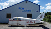 Piper PA-28-140 Cherokee Fuselage (EMAIL OR CALL TO BUY)