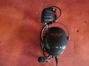 AV Comm Aviation Headset PN AC- 200PNR