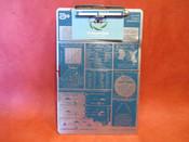 Aero Products Research Clip Board W/ Flight Organizer