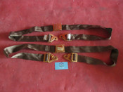Beechcraft Cessna Piper AmSafe Gold Plated Aircraft Seat Belt Set 442868 5000B2