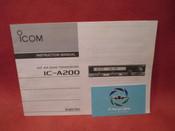 ICOM IC-A200 VHF Comm Service Instruction Manual
