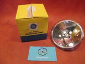 GE Sealed Beam Lamp, 28V 100W PN 4591