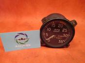 Stewart Warner Tachometer Indicator PN 801012-4