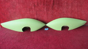 Cessna 172 LH & RH Wheel Pant Set PN 0743609-17, 0741610-6, 0741610-5 (EMAIL OR CALL TO BUY)