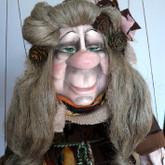 Handmade Marionette - Berta