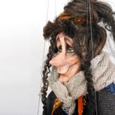 Handmade Marionette - Witch Matilda