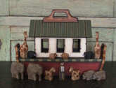 Wooden Noah's Ark - Children's Ark