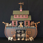 Wooden Noah's Ark - Williamsburg Ark