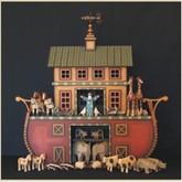 Wooden Noah's Ark - Williamsburg Mustard Ark