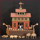 Wooden Noah's Ark #7 - Drawer Ark