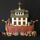 Wooden Noah's Ark - Nantucket Drawer Ark