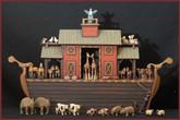 Wooden Noah's Ark #13 - Drawer Ark