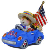 Wee Forest Folk Miniature - Honk for the USA! (M-454e)