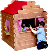 Little Colorado Log Cabin Play House