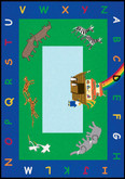 Learning Carpets Noah's Ark Cut Pile Rug - Rectangular