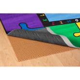 Learning Carpets Under Carpet Mat - Oval