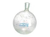Gymnic Fantasy Hop Ball - 18 Inch Clear with Stars