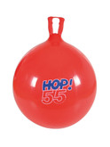 Gymnic Hop Ball 55 - 22 Inch Red