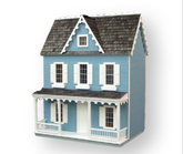 Vermont Farmhouse Jr Unfinished Dollhouse Kit