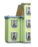 Two Story Jr Addition Unfinished Dollhouse Kit