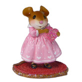 Wee Forest Folk Miniature - Little Sweetheart Girl (M-499a)