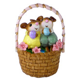 Wee Forest Folk Miniature - Cozy Easter Couple (M-523)