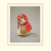 R John Wright Dolls Fairy Tale Mice - Little Red Riding Hood