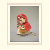 R John Wright Dolls Fairy Tale Mice - Little Red Riding Hood
