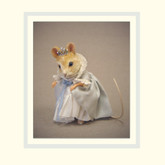 R John Wright Dolls Fairy Tale Mice - Cinderella