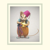 R John Wright Dolls Fairy Tale Mice - Aladdin