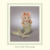 R John Wright Dolls Fairy Tale Mice - The Little Mermaid