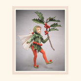 R John Wright Dolls Holly Fairy - From Mary Cicely Barker Flower Fairies Collection
