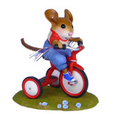 Wee Forest Folk Miniature - Tiny Trike (M-526-Red)