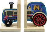 Maple Landmark Mighty Driver Bookends, Train Engine (70207)