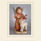 R John Wright Dolls - Hummel Angel Serenade