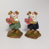 Wee Forest Folk Miniature - Be Mine (M-80a) with green or black pants.