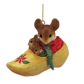 Wee Forest Folk Miniature - Shoe Inn Christmas Ornament (CO-5)