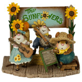 Wee Forest Folk Miniature - The Swinging Sunflowers (M-438a)