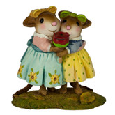 Wee Forest Folk Miniature - Sharing Sisters (M-553b)
