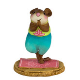 Wee Forest Folk Miniature - Namaste (M-572)