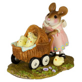 Wee Forest Folk Miniature - Strolling with My Chickies (M-607)