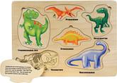 Maple Landmark Dinosaur Lift and Learn Puzzle